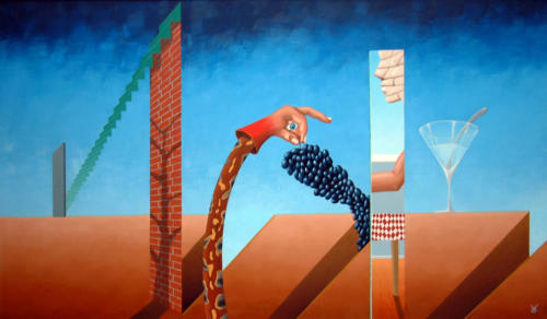 De verheerlijking   1989 ( 60x90 cm )/]The glorification   1989 ( 60x90 cm )